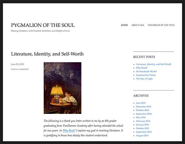 Web Development: Pygmalion of the Soul