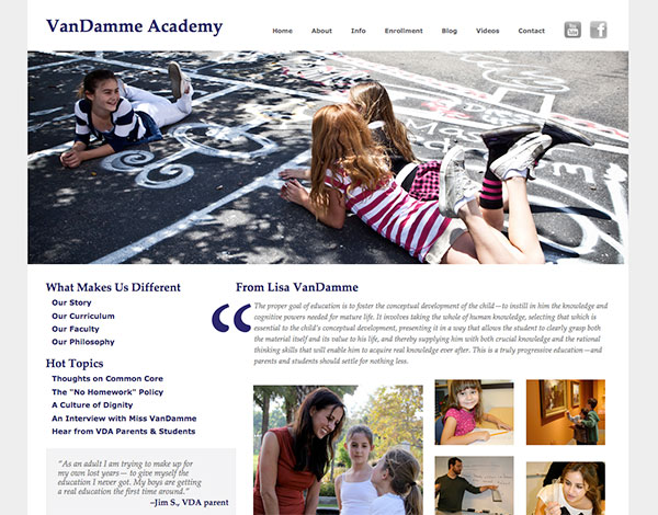 Web Development: VanDamme Academy