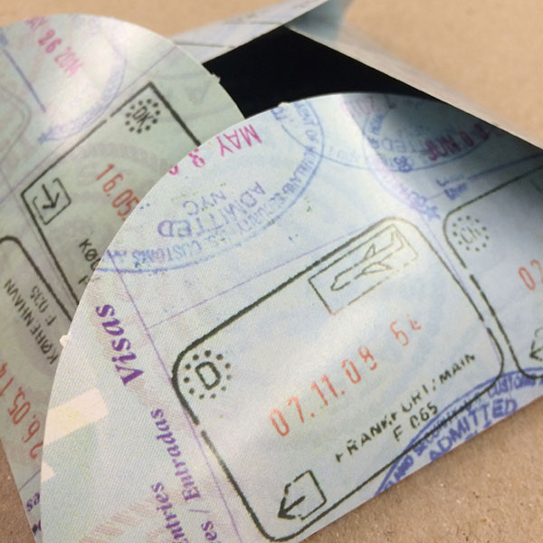 Flash Die cut Envelope
