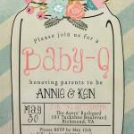 Flash Digital Baby Shower Invitation