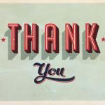 Flash digital thank you card